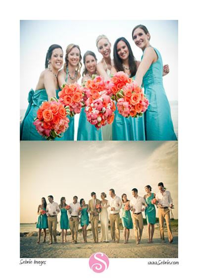 Captiva Wedding Photographer captures wedding party