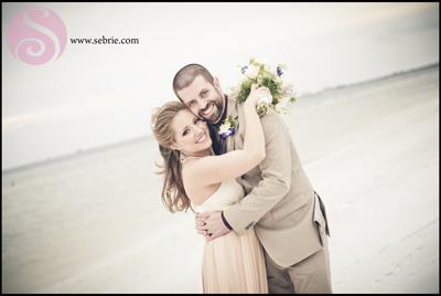 fort myers beach wedding photography