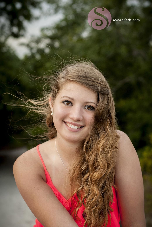 hair wind portrait