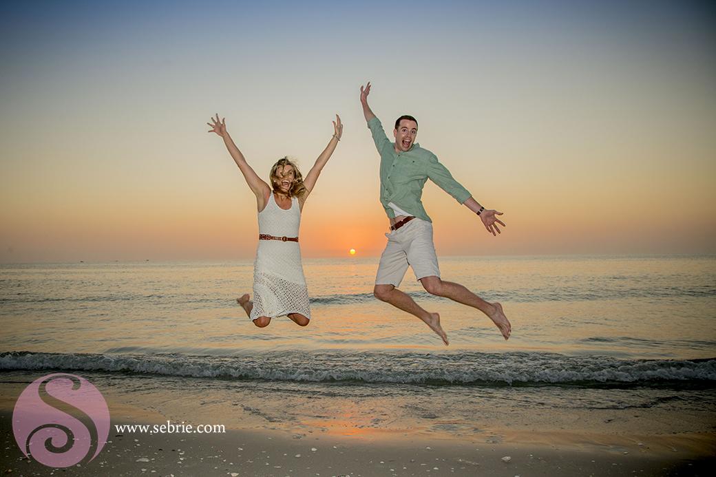 sunset-engagement-jump