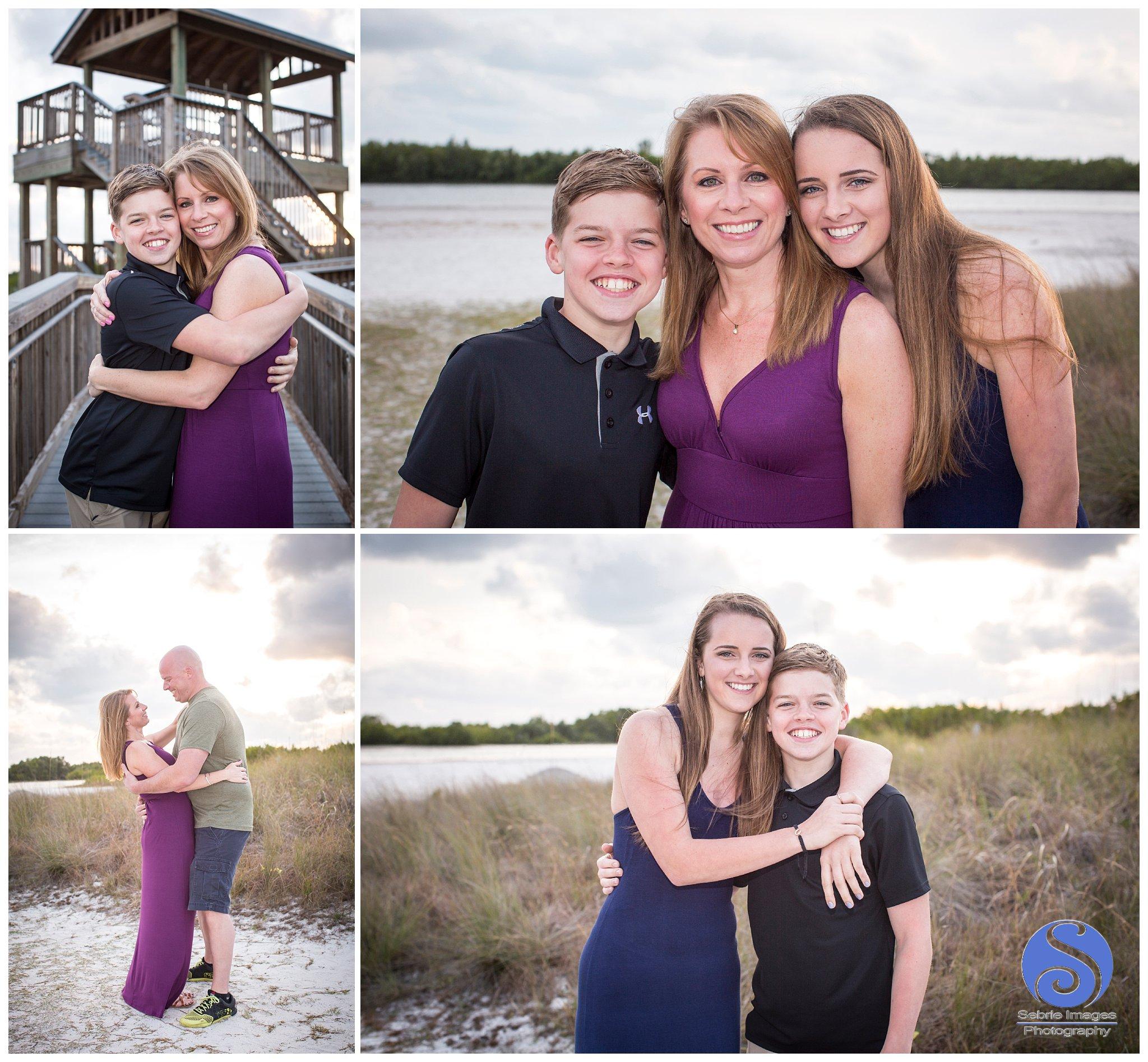 Family Portraits at Marco Island, FL