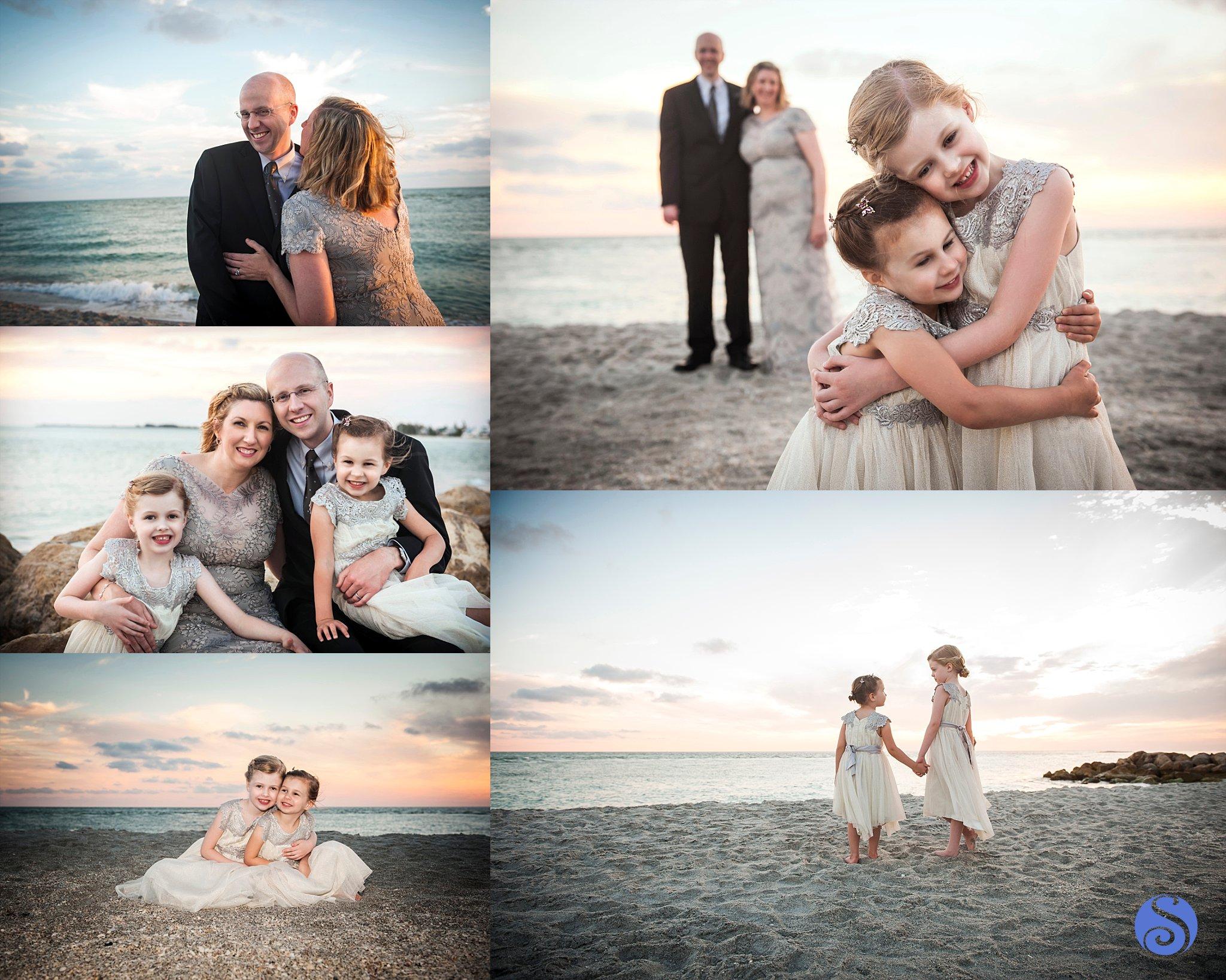South Seas Island Resort Wedding Vow Renewal Family Portrait Photography Captiva Florida